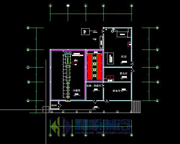 冷库设计五个因素是必须要考虑的图片